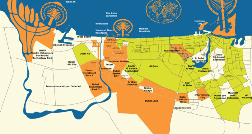 Introduction to Dubai districts