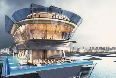 Dubai's One of the Tallest Infinity Pools Is Soon to Open
